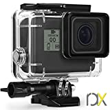 RAXPY Waterproof Housing for GoPro Hero 5, 6, HD 2018 and 7 Black, Protective 45m Underwater Dive Hard case with a Small Gift Inside