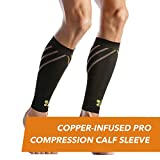 CopperJoint PRO Compression Calf Sleeve, Pair (M)