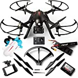 Force1 Brushless Motor GoPro Drone Kit - F100GP Camera Drones for Adult w/Compatible GoPro Drone Mount, 1080p Drone Camera and Long Flight Time
