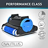 Dolphin 99996323 Nautilus Robotic Pool Cleaner with Swivel Cable, 60-Feet
