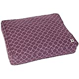 Molly Mutt Royals Dog Bed Duvet Cover, Purple, Medium/Large - 100% Cotton, Durable, Washable
