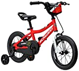 Schwinn Koen Boy's Bike, Featuring SmartStart Frame to Fit Your Child's Proportions, 14inches Wheels, Red