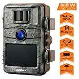 Campark Trail Camera 14MP 1080P HD Outdoor Game Hunting Cam 940nm Security Night Vision Motion Activated Cameras with 2.4' LCD and IP66 Waterproof Battery Powered