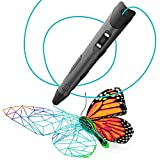 3D Pen for Kids and Adults - Create Awesome Designs, Models, 3D Drawings, Arts, and Crafts - 3D Printer Pen for Printing 3D Drawings [with 240ft of Filament in Vibrant Colors]