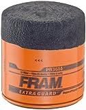 Fram PH3614 Extra Guard Passenger Car Spin-On Oil Filter (Pack of 2)