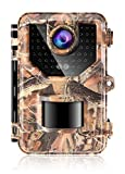 Sesern Trail Camera 16MP 1080P, IP66 Waterproof Game Camera with 940nm No Glow IR Night Vision to 65ft, 2.4' Color Screen, 0.2 Trigger Time Motion Activated, 120° Detection Range, Autumn Yellow