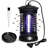Gogogu Electric Indoor Bug Zapper, Mosquito Killer Lamp Insect Bug Fly Catcher Gnats Pest Control Traps UV Bug Light, Eliminates Most Flying Pests
