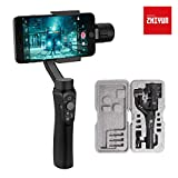 3-Axis Gimbal Stabilizer for Smartphone, Powered by ZHIYUN-Gimbal for iPhone-Android Video Recording with Handbag,Dolly Zoom, Timelapse, Panorama, CINEPEER C11