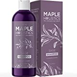 Sage Shampoo for Thin Hair Care - Sage Oil Clarifying Shampoo for Build Up Hair Shine and Scalp Moisturizer - Oily Hair Shampoo for Greasy Hair and Dry Scalp Treatment with Essential Oils for Hair
