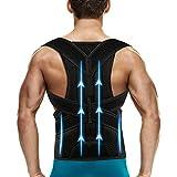 Back Brace Posture Corrector for Men and Women Back Support Belt Shoulder Posture Support,Adjustable for Upper and Lower Back Brace Posture Improves and Relief Pain from Back,Neck,Shoulders S(24''-30)
