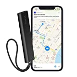 Invoxia Cellular GPS Tracker - Vehicle, Car, Motorcycle, Bike, Senior, Kid, Belongings - Up to 4 Month Battery Life - Free 1-Year Subscription - Built-in SIM - Real-time Anti-Theft Alerts - 4G LTE-M
