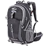 Hiking Backpack 40L Camping Backpack with Waterproof Rain Cover Hiking Daypack Lightweight Travel Backpack Outdoor Backpack for Men Women