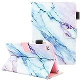 iPad Mini Case, iPad Mini 2/3 Case, iPad Mini 4 Case, iPad Mini 5 Case, Fvimi Multi-Angle Viewing Folio Smart Leather Cover with Auto Sleep/Wake for 7.9' Apple iPad Mini 1/2/3/4/5, Marble