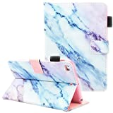 Fvimi iPad Mini Case, iPad Mini 2/3 Case, iPad Mini 4 Case, iPad Mini 5 Case, Multi-Angle Viewing Folio Smart Leather Cover with Auto Sleep/Wake for 7.9' Apple iPad Mini 1/2/3/4/5, Marble