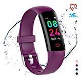 moreFit Fitness Tracker HR, Waterproof Activity Tracker Watch with Blood Pressure Monitor, Excercise Watch Step Tracker, Calorie Counter, Pedometer Watch for Kids Women Men