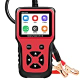 Bariicare Car Battery Tester, Upgraded 100-2000 CCA 12V Battery Load Tester Digital Analyzer Automotive Test Tool Battery Tester for Truck Car Yacht Motorcycle