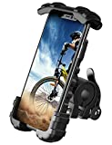 "Phone Holder Mount for Bike Handlebar - Lamicall Motocycle Cell Phone Clamp, Scooter Phone Mount for iPhone 11/ iPhone 11 Pro/iPhone 11 Pro Max, Samsung S10 and More 4.7"" - 6.8' Smartphones"