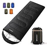 COHOME Sleeping Bag - Adults & Kids 4 Season Camping Backpacking Hiking Traveling for Outdoor & Indoor Use Lightweight Compact Bag.