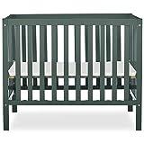 Dream On Me, Edgewood 4-in-1 Convertible Mini Crib, Olive