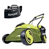 Sun Joe MJ401C-PRO 14-Inch 28-Volt Cordless Push Lawn Mower, w/Rear Discharge Chute