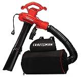 CRAFTSMAN Leaf Blower / Leaf Vacuum & Mulcher, 12-Amp, Corded (CMEBL7000)