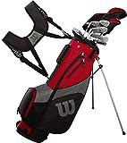 Wilson Golf Profile SGI Men's Complete Golf Set — Regular, Right Hand,Red (Regular)