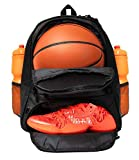 ERANT Basketball Backpack With Ball Compartment – Basketball Bags With Ball Holder – Basketball Bag Backpack – Basketball Bags For Boys – Backpack for Basketball – Basketball Backpacks for Girls