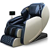 Real Relax 2021 Massage Chair, Zero Gravity SL Track Massage Chair, Full Body Shiatsu Massage Recliner with Body Scan Bluetooth Heat Foot Roller, Favor-06