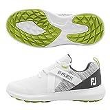 FootJoy Men's Flex Golf Shoes White 11.5 M Grey, US