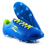 zephz Wide Traxx Premier French Blue Soccer Cleat Adult 6.5