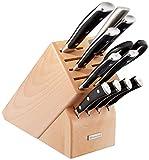 WÜSTHOF CLASSIC IKON Twelve Piece Knife Block Set | 12-Piece German Knife Set | Precision Forged High Carbon Stainless Steel Kitchen Knife Set with 15 Slot Wood Block – Model