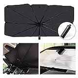 helloleiboo Car Windshield Sun Shade UV Rays and Heat Sun Visor Protector Foldable Reflector Umbrella brella Shield