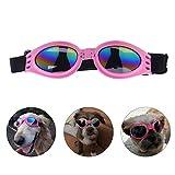 SZFY Dog Goggles Dog Doggles Waterproof Eyewear UV Protection Sunglasses for Doggy Puppy