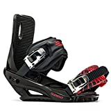 5th Element Stealth 3 Snowboard Bindings 2020 - Large-XLarge/Black-Red