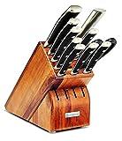 Wüsthof Classic IKON Knife Block Set, 11-Piece, Acacia