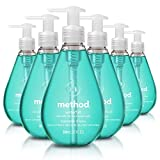 Method Gel Hand Soap, Waterfall, 12 Fl Oz (Pack of 6)