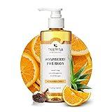 Sensitive Skin Body Wash by Tree to Tub - pH 5.5 Balanced. Sensitive Skin Body Wash for Women and Men, with Wild Soapberries 8.5 oz