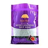 Tree Hut Detoxifying Mediterranean Salt Soak Fig & Olive, 3Ibs, Ultra Hydrating Epsom for Nourishing Essential Body Care