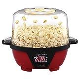 West Bend 82505 Stir Crazy Electric Hot Oil Popper Popcorn-Machine, Standard, Red