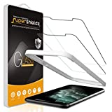 (2 Pack) Supershieldz Designed for iPhone 11 Pro, iPhone Xs and iPhone X (5.8 inch) Tempered Glass Screen Protector with (Easy Installation Tray), Anti Scratch, Bubble Free