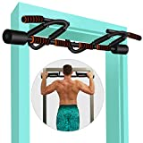 KLL Pull up Bar for Doorway, Multifunctional Strength Training Pull-up Bars for Home Gym Exercise, Doorway Pullup Chin up Bar No Screws with Upgraded Thickened Steel & 440LBS(180-days Free Return)