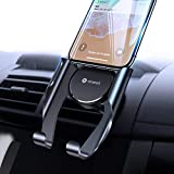 VICSEED Car Phone Mount, Air Vent Phone Holder for Car, Handsfree Cell Phone Car Mount Compatible iPhone 11 Pro Max XR Xs Max Xs X 8 7 6 Plus, Compatible Samsung Note 10 S20 S10+ S10 S9 LG Google Etc.