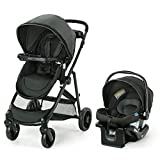Graco, Modes Element Travel System Includes Baby Stroller with Reversible Seat Extra Storage Child Tray and SnugRide 35 Lite LX Infant Car Seat, Canter