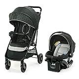 Graco NimbleLite Travel System | Includes Lightweight Stroller and SnugRide 35 Lite Infant Car Seat, Parent Storage, Compact Fold | Lightweight Stroller Under 15 Pounds, Frisco