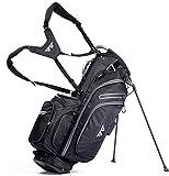 EG EAGOLE Light Golf Stand Bag 14 Way Full Length Black