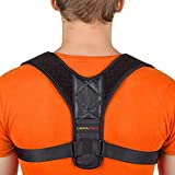 [New 2020] Posture Corrector for Men and Women - Adjustable Upper Back Brace for Clavicle Support and Providing Pain Relief from Neck, Back and Shoulder