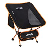 URPRO Outdoor Ultralight Portable Folding Chairs with Carry Bag Heavy Duty 145kgs Capacity Collapsible Chair Camping Folding Chairs Beach Chairs