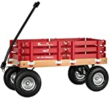 Berlin Flyer Sport Wagon - Model F410 - Amish Made in Ohio, USA - 10' No-Flat Tires (Red)