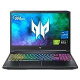 Acer Predator Helios 300 PH315-54-760S Gaming Laptop | Intel i7-11800H | NVIDIA GeForce RTX 3060 Laptop GPU | 15.6' Full HD 144Hz 3ms IPS Display | 16GB DDR4 | 512GB SSD | Killer WiFi 6 | RGB Keyboard