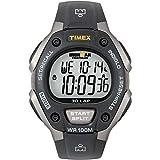 Timex Men's T5E901 Ironman Classic 30 Gray/Black Resin Strap Watch